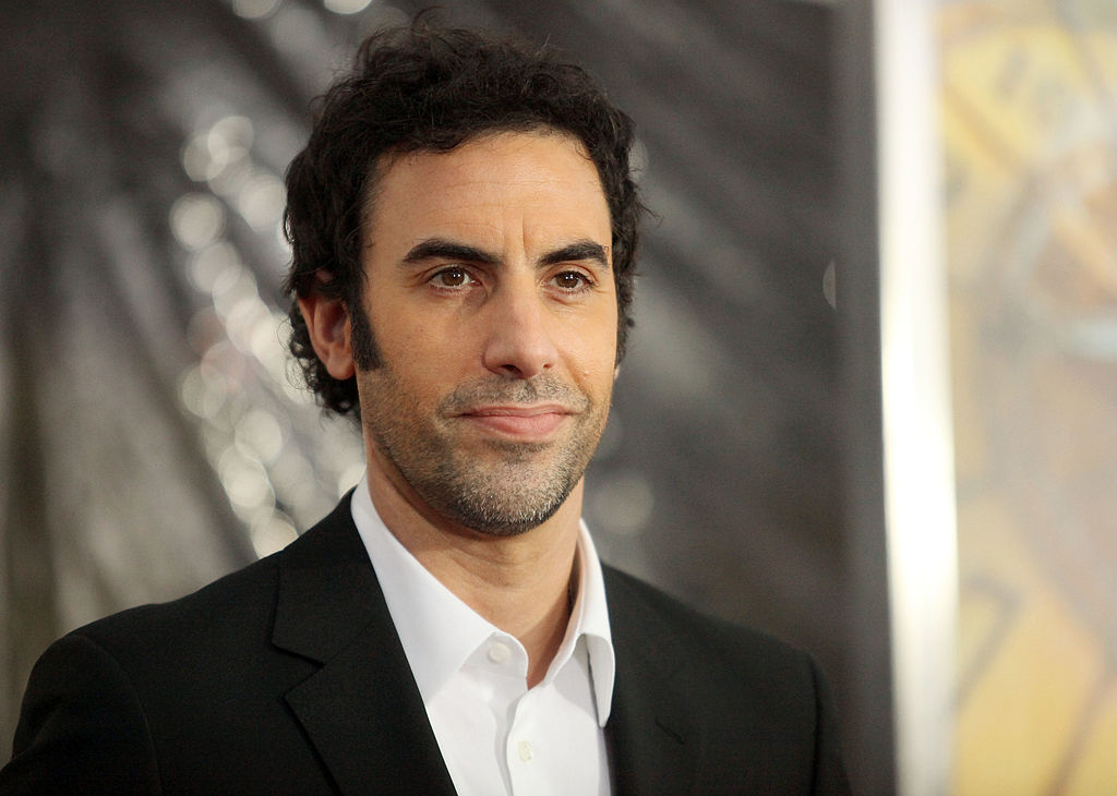 Sacha Baron Cohen, out of character. (GettyImages)