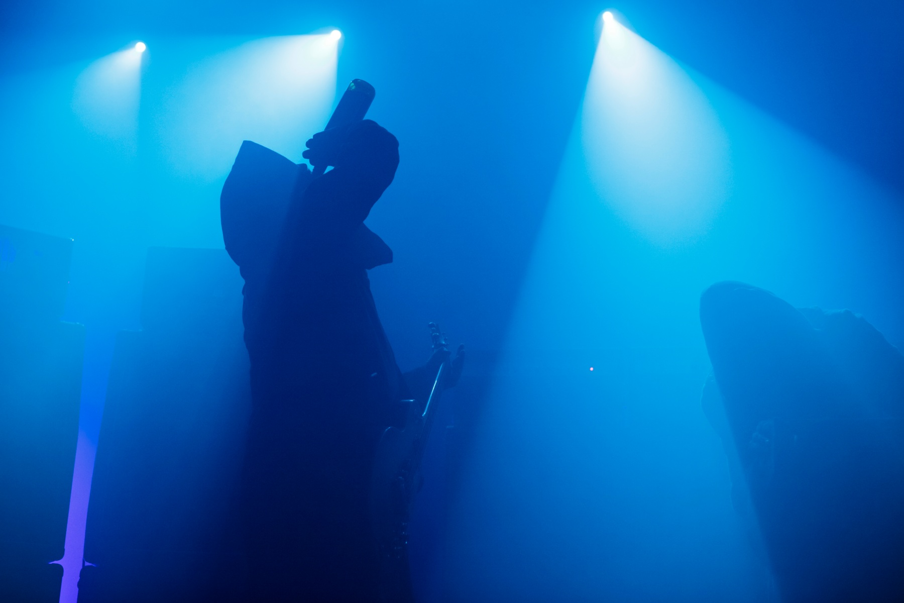Sunn O))) and the dawn of drone (Photo by Andrew Benge/Redferns via Getty Images)