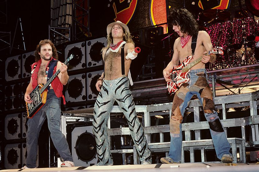 Van Halen performing in 1984. (Ebet Roberts/Getty)