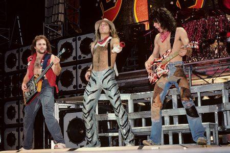 Van Halen performing in 1984. (Ebet Roberts/Getty)