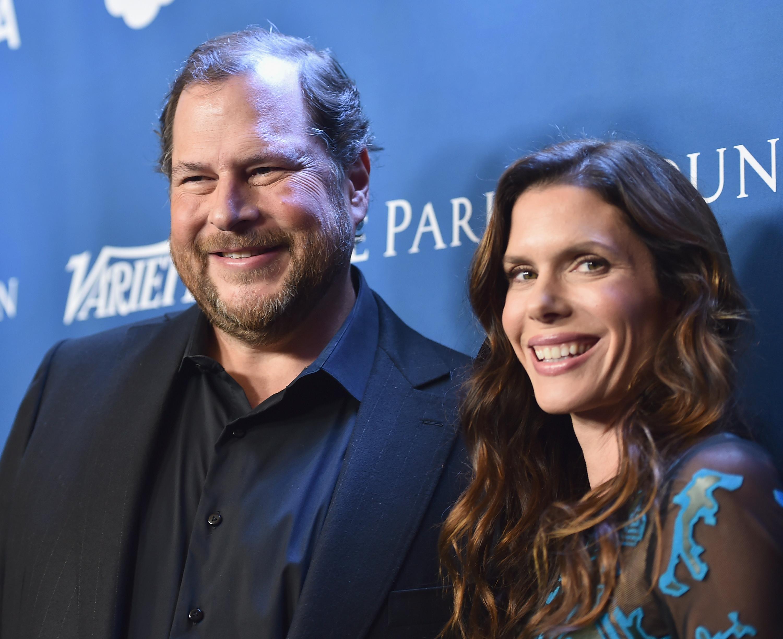 Marc and Lynne Benioff