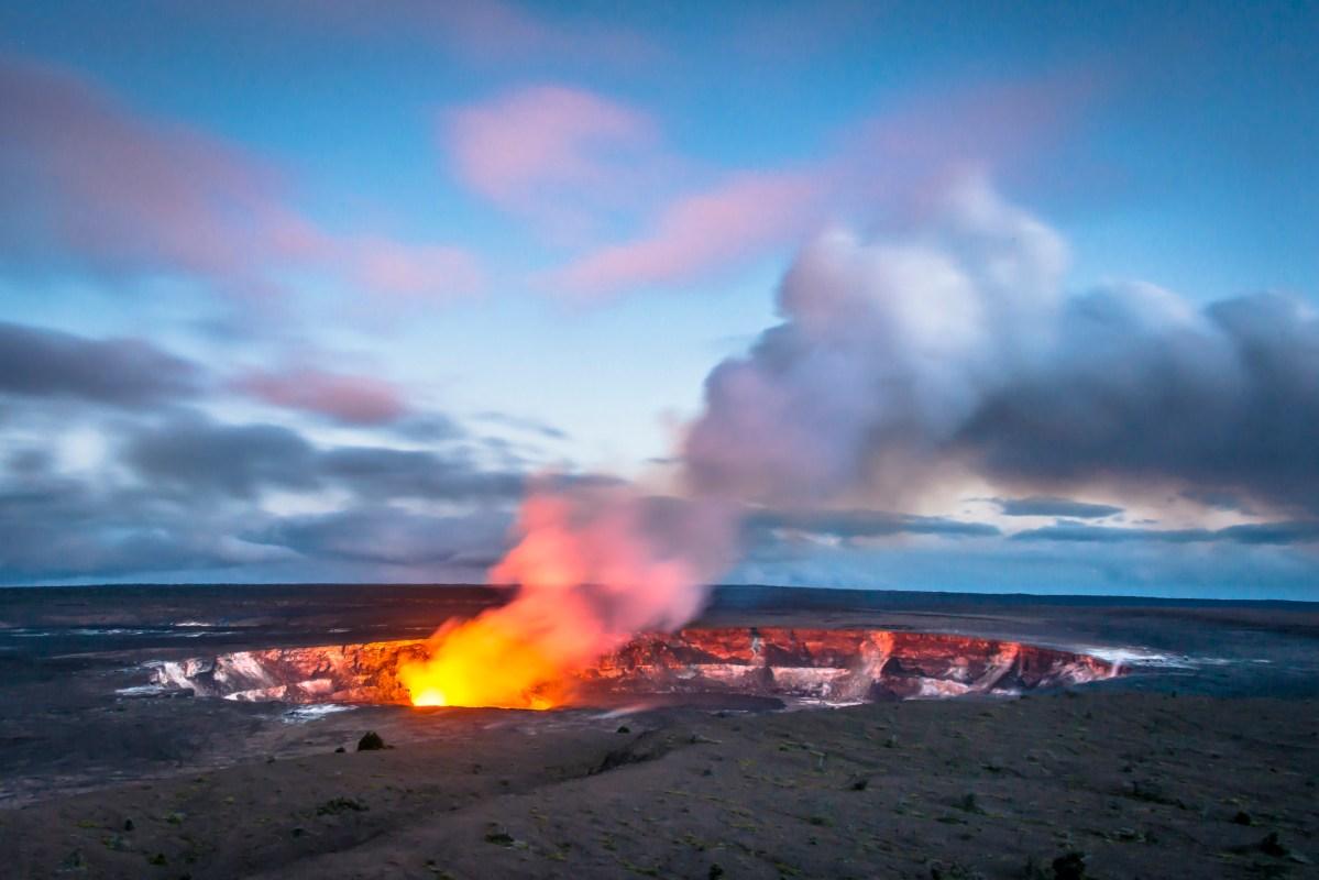 Hawaii's Kilauea Caldera