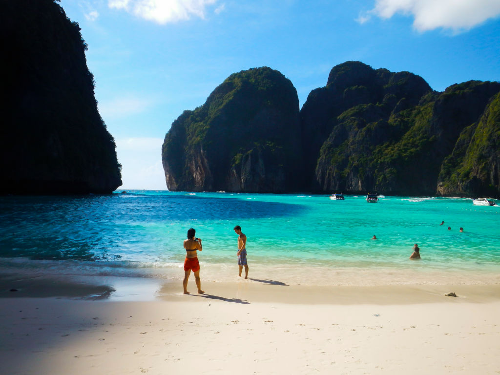Maya Bay will stay closed for two more years. (GettyImages)