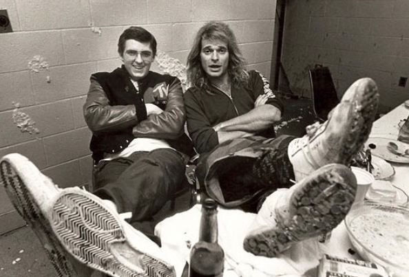 "Kurt Jefferis and David Lee Roth in ""Lost Weekend."" (Window Pictures)"