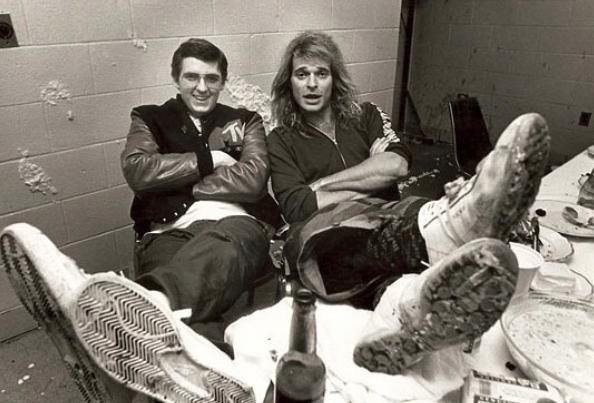 "Kurt Jefferis and David Lee Roth in ""Lost Weekend."" (Window Pictures)"