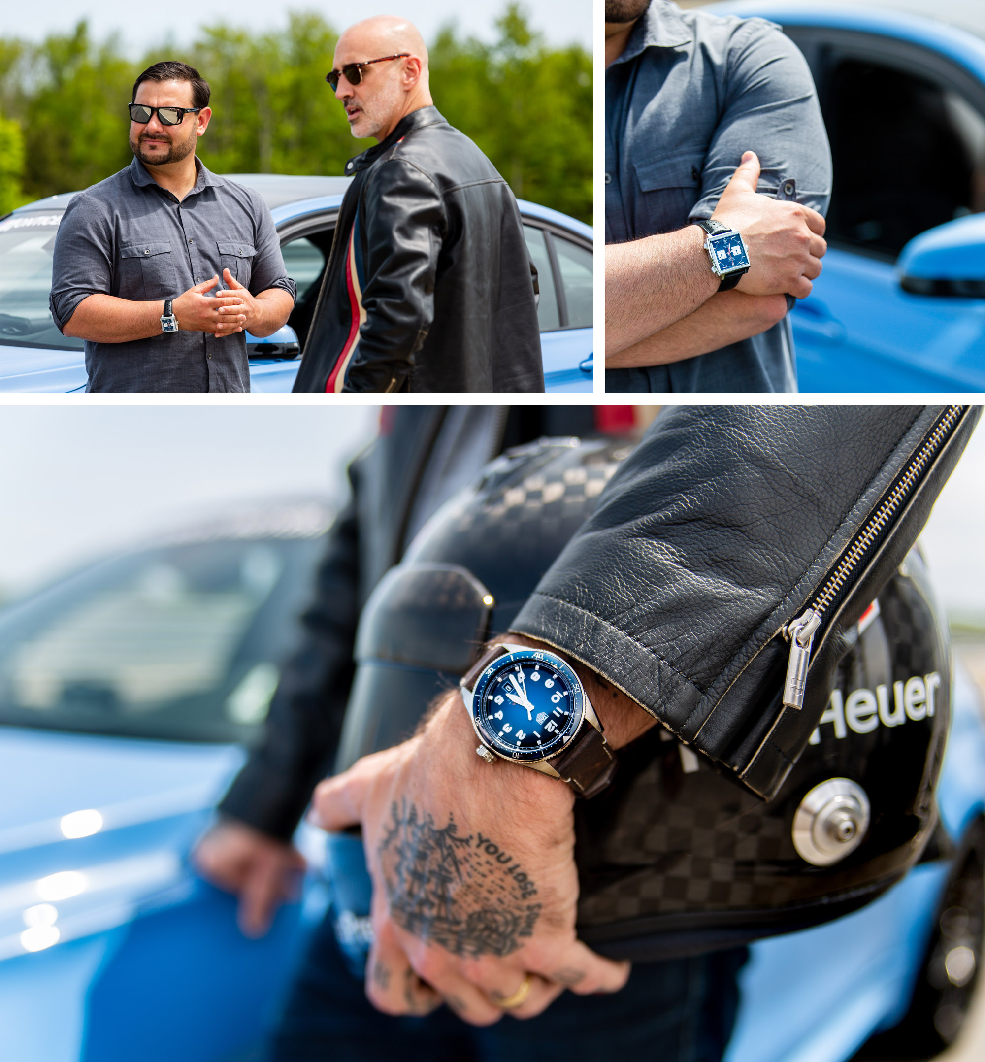 TAG Heuer Autavia Science of Performance Monticello Race Track
