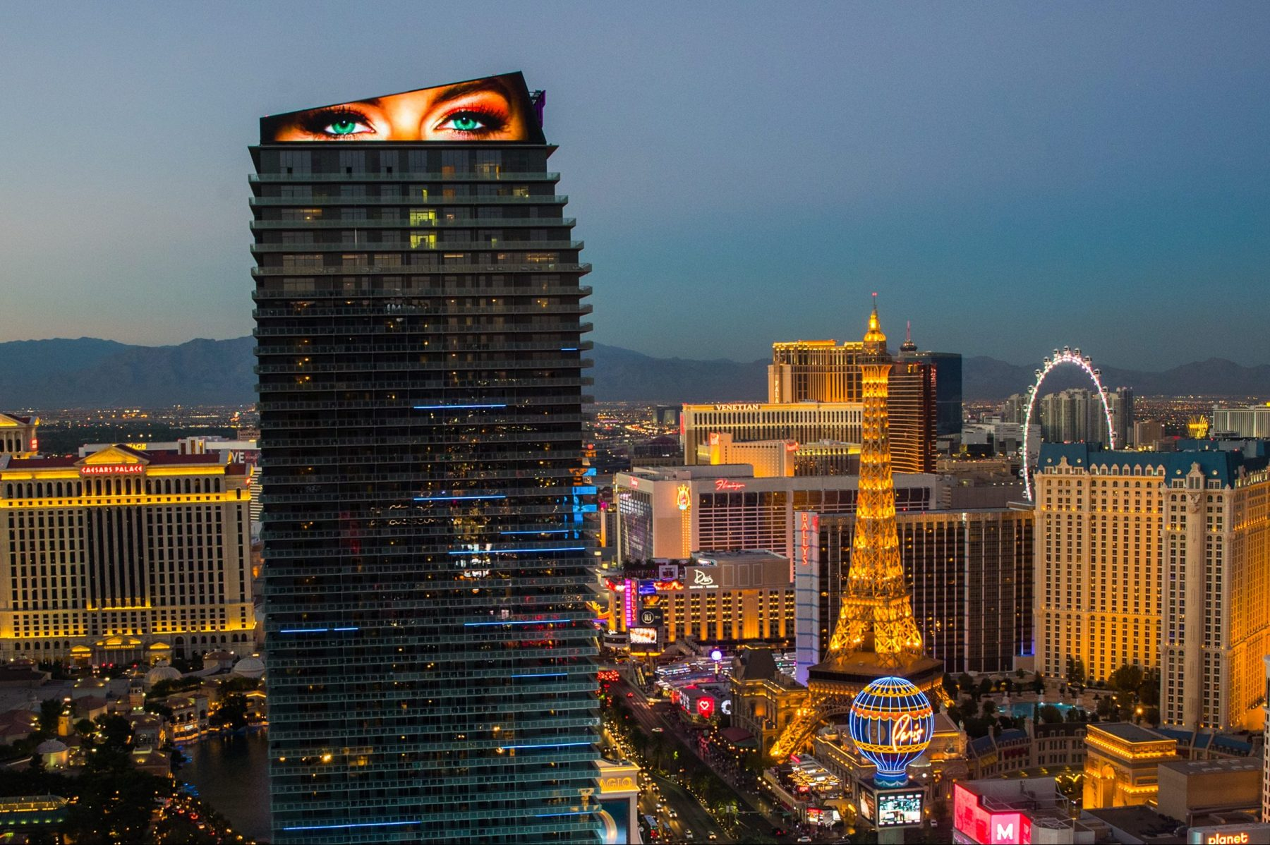 The Cosmopolitan of Las Vegas. (Cosmopolitan)