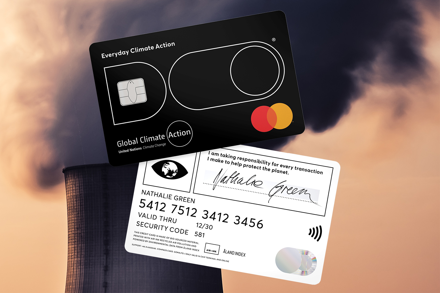 Doconomy's DO Black credit card caps your spending with a carbon emissions limit.