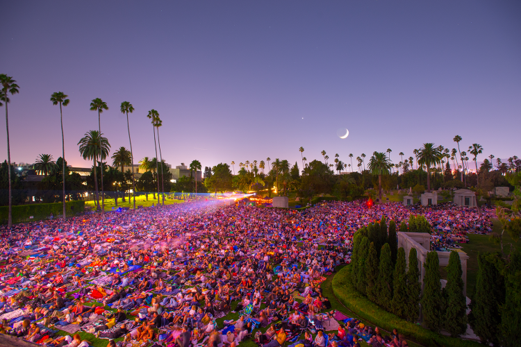 Best Outdoor Cinemas in LA Cinespia