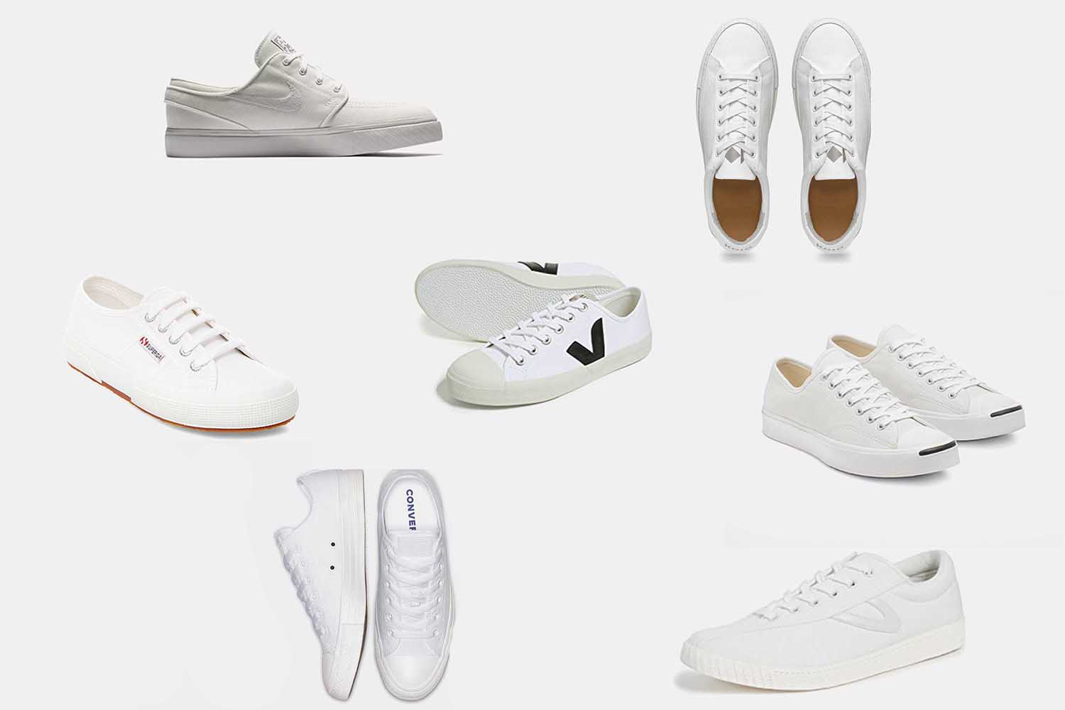The White Canvas Sneaker Is the