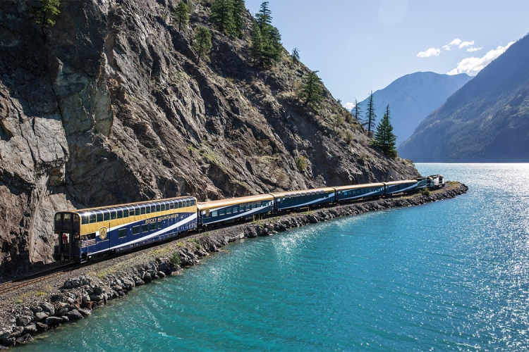 You Can Now Tour the Canadian Rockies in a Glass-Domed Luxury Train