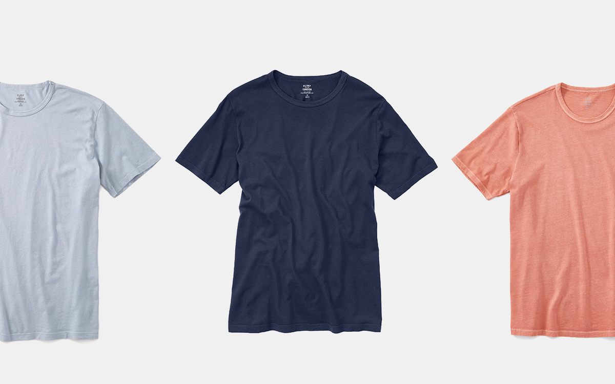 Get Three Soft Tees for $75 with This Huckberry Deal