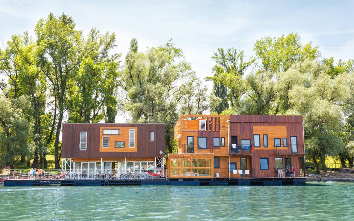 The 7 Best Airbnbs That Are Literally on the Water (i.e., Floating)