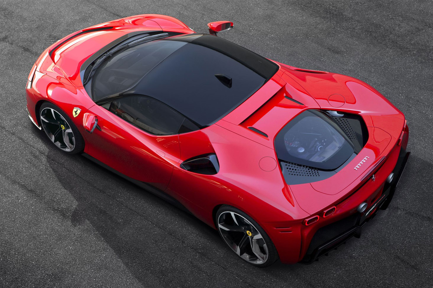 Ferrari's New SF90 Stradale Sports Car