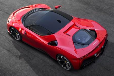 Ferrari's New SF90 Stradale Sports Car