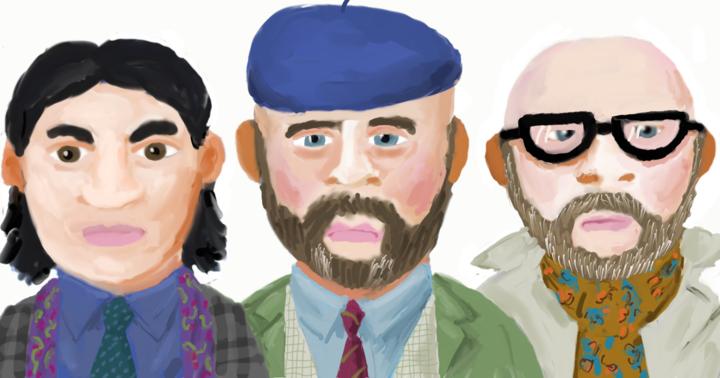 Jake Muser, Dan Quigley and Tony Madsen-Sylvester