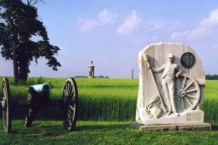 Monument, Gettysburg Battlefield