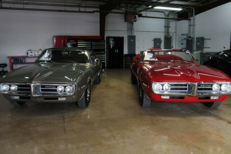 The first two production Pontiac Firebirds, a convertible and coupe, are for sale on eBay.