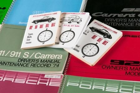 Porsche recently reissued over 700 original owner's manuals.