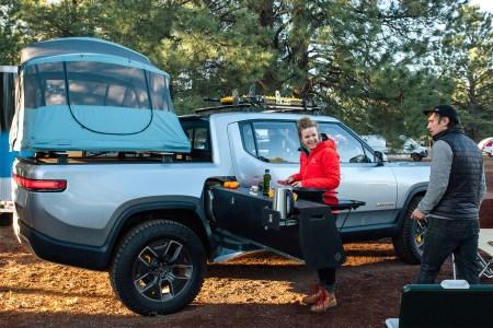 Rivian R1T Electric Pickup Truck Off-Road EV