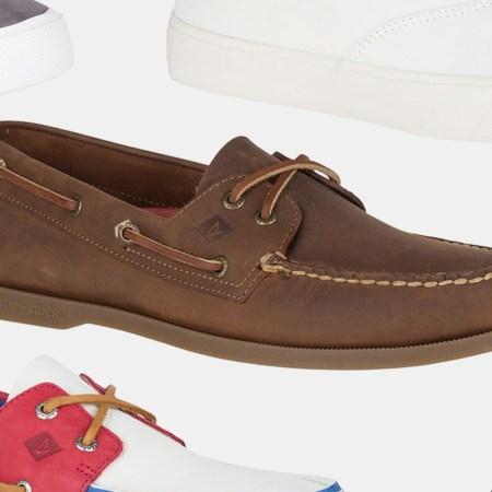 Sperry Boat Shoe Sneaker Clearance Sale