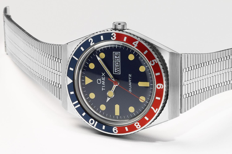 Q Timex Is a Reissued '70s Quartz Watch