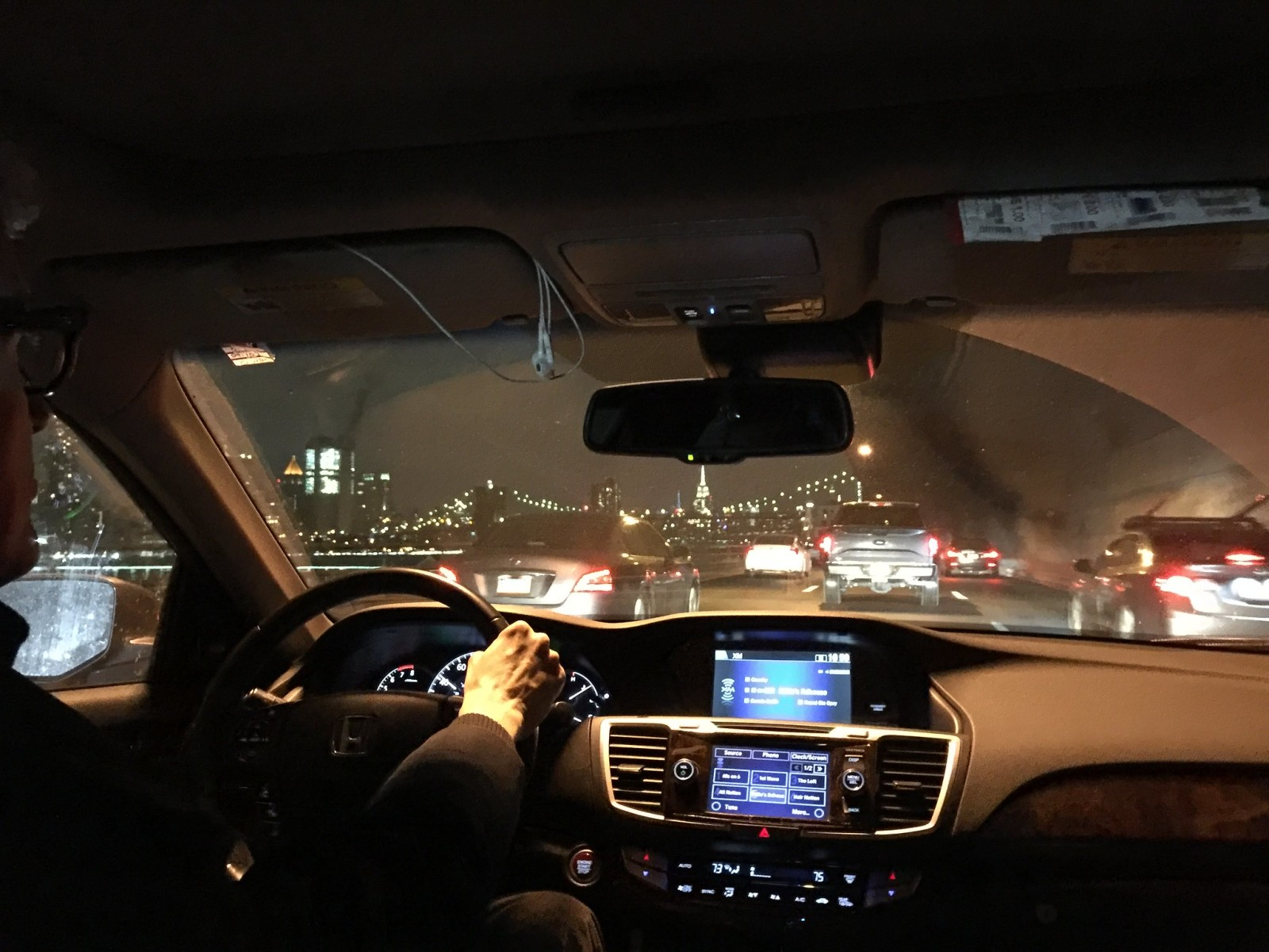 Traveling via Uber