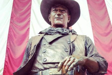 John Wayne Statue