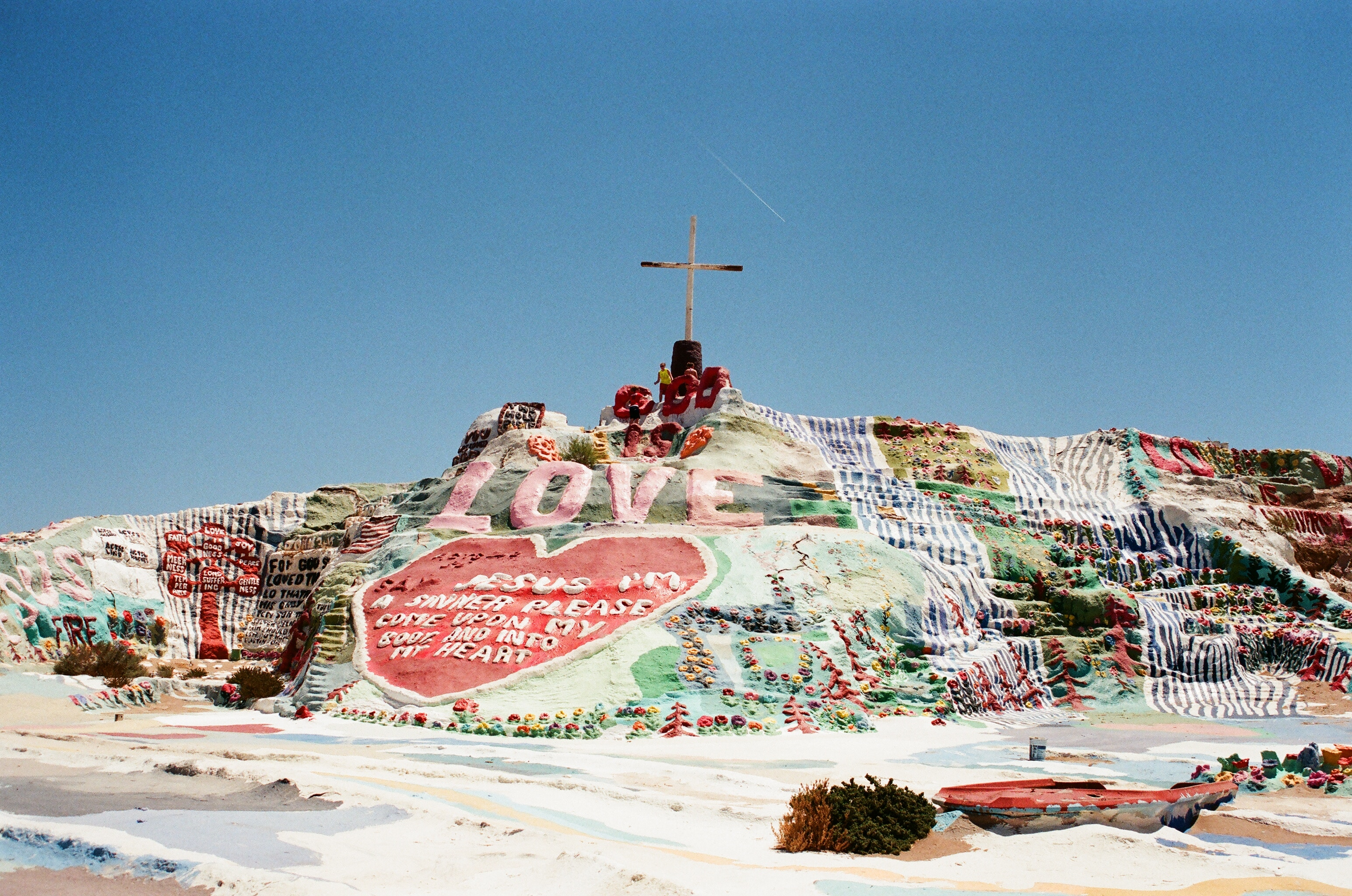 Salvation Mountain Road Trip California