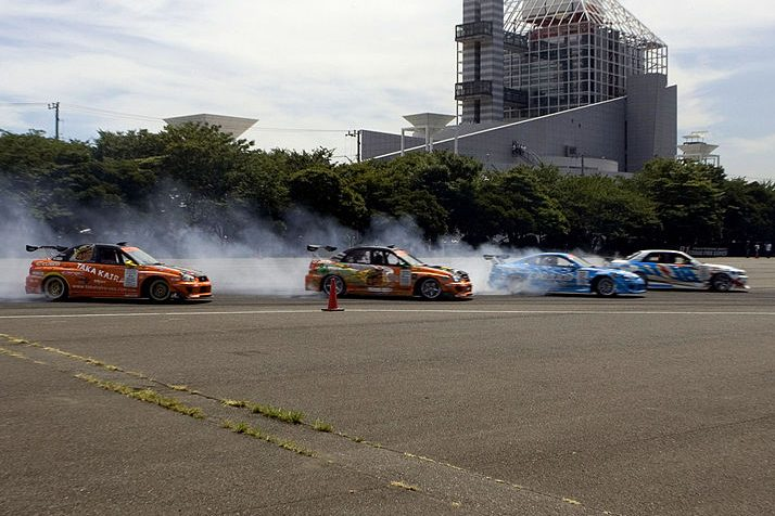 """Atmosphere during """"The Fast and the Furious: Tokyo Drift """" Tokyo Photocall in Tokyo. (Nathan Shanahan/FilmMagic)"""