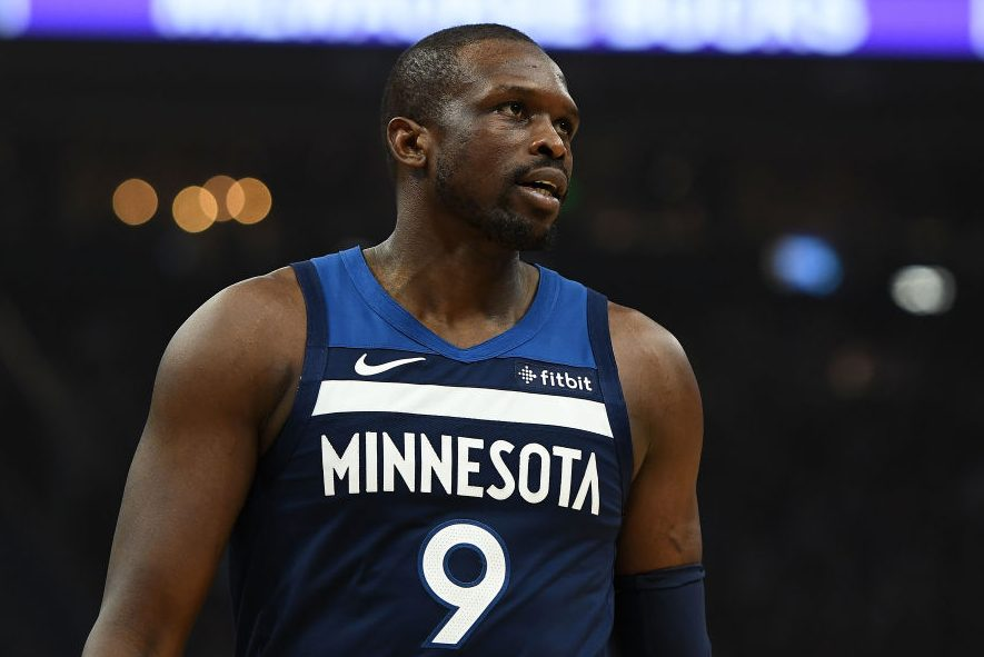 Luol Deng of the Minnesota Timberwolves. (Stacy Revere/Getty)