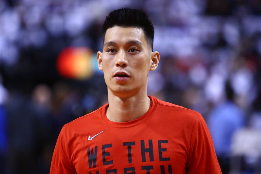 Jeremy Lin of the Toronto Raptors. (Vaughn Ridley/Getty)