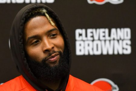Wide receiver Odell Beckham Jr. of the Cleveland Browns. (Nick Cammett/Diamond Images/Getty)