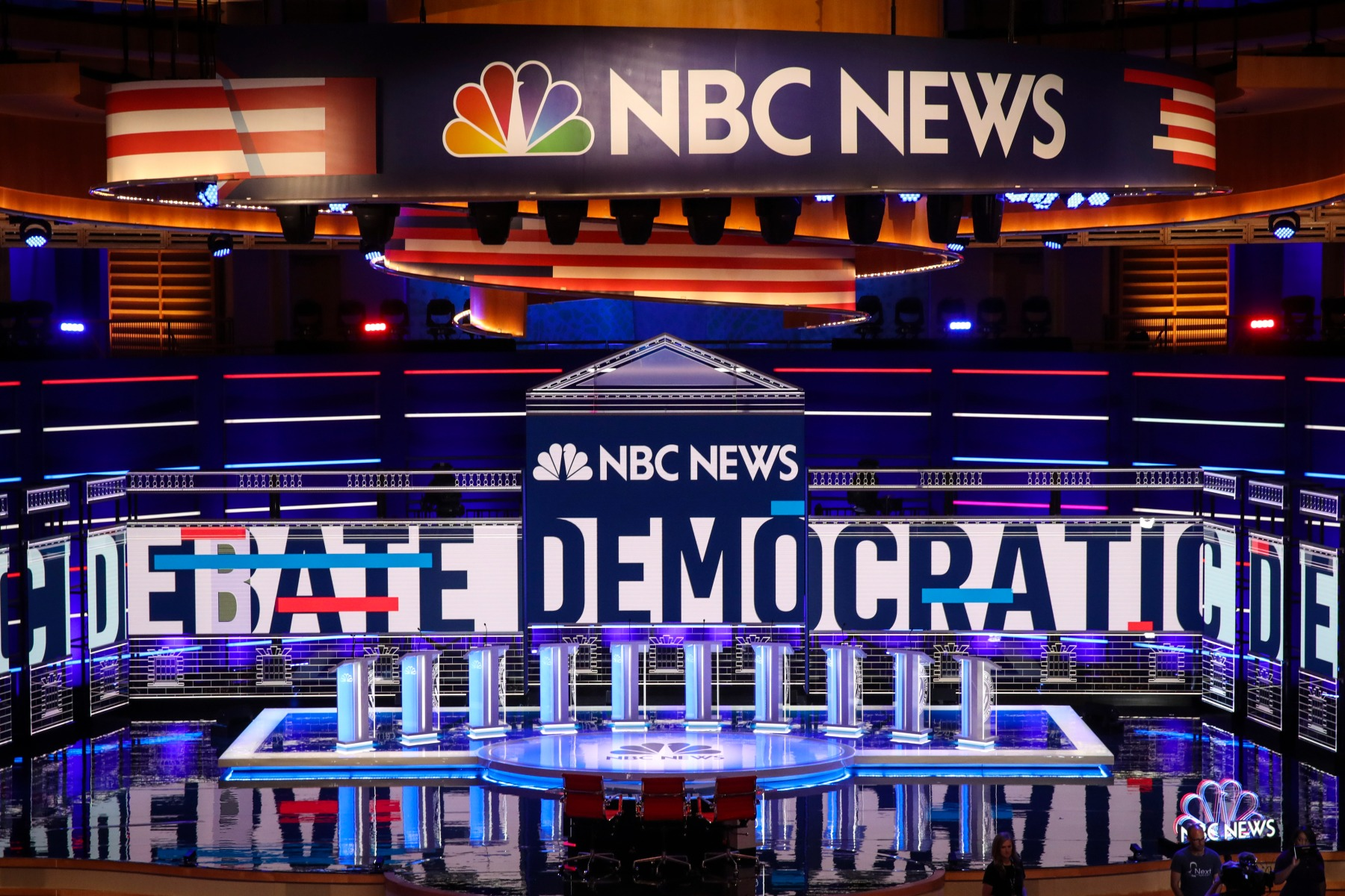 The stage is set for the first 2020 Democratic debate