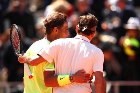 French Open Nadal Federer