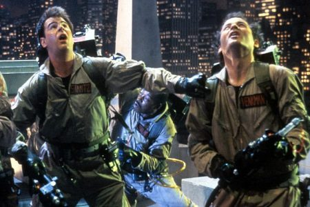 """Dan Aykroyd and Bill Murray in """"Ghostbusters."""" (Columbia Pictures/Getty)"""