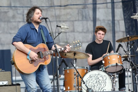 Jeff Tweedy's peak dad rock move was starting a band with his son. (Photo by Taylor Hill/WireImage)