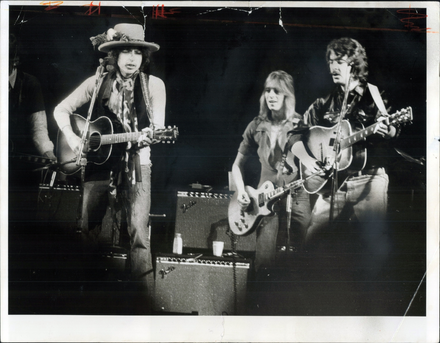 Bob Dylan and the Rolling Thunder Revue (Frank Lennon/Toronto Star via Getty Images)