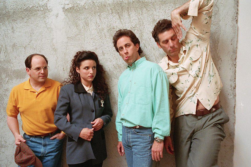 "The Cast of ""Seinfeld."" (David Turnley/Corbis/VCG via Getty)"