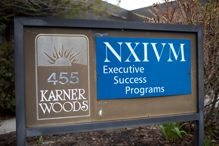 The NXIVM Executive Success Programs headquarters in Syracuse, NY. (Photo by Amy Luke/Getty Images)