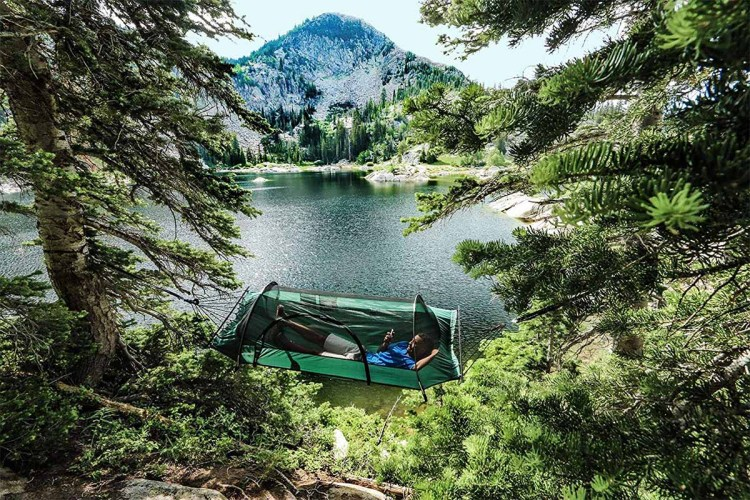 Lawson Hammock Blue Ridge Camping Hammock + Suspension System