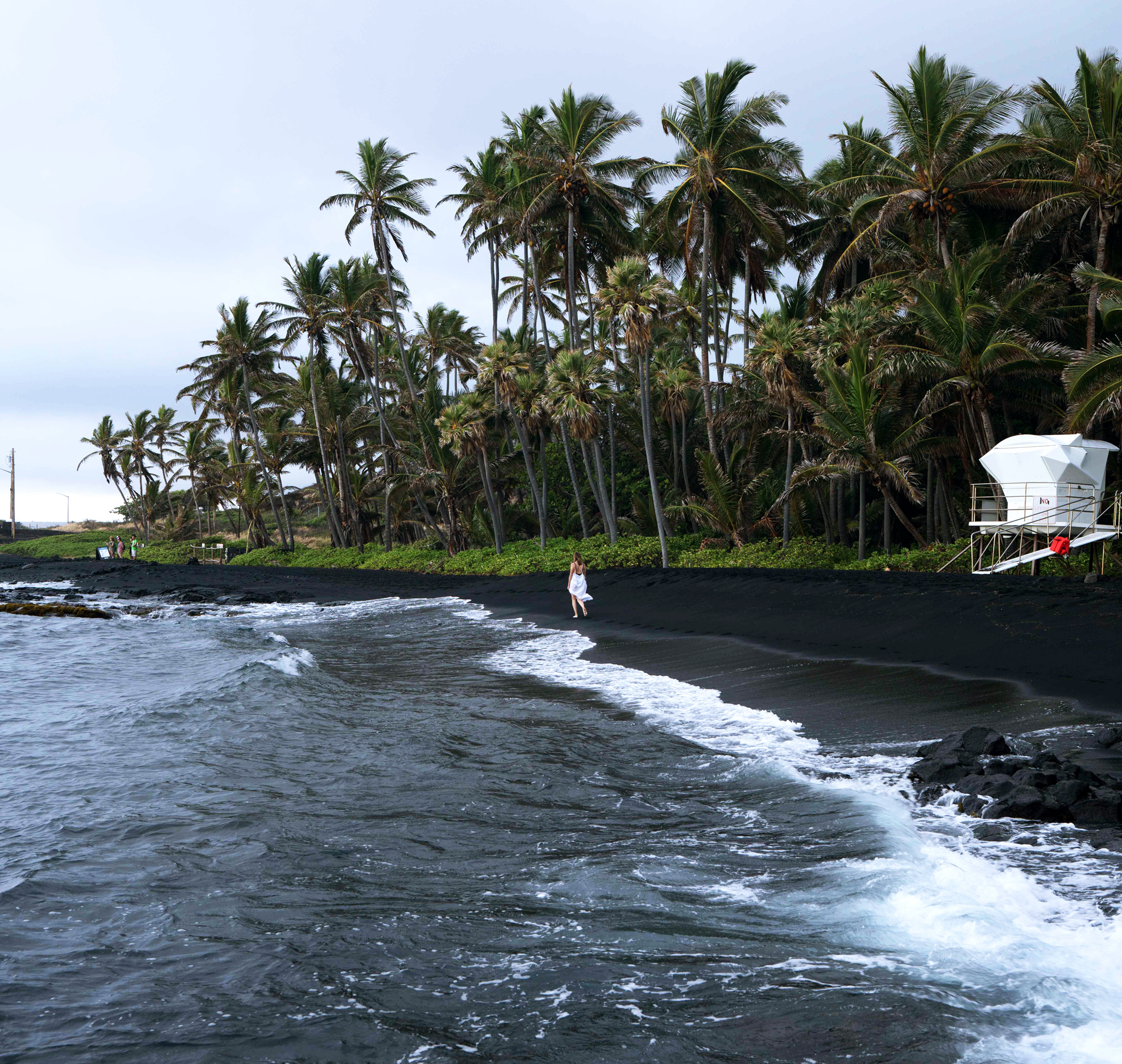 Punaluʻu Black Sand Beach Hawaii