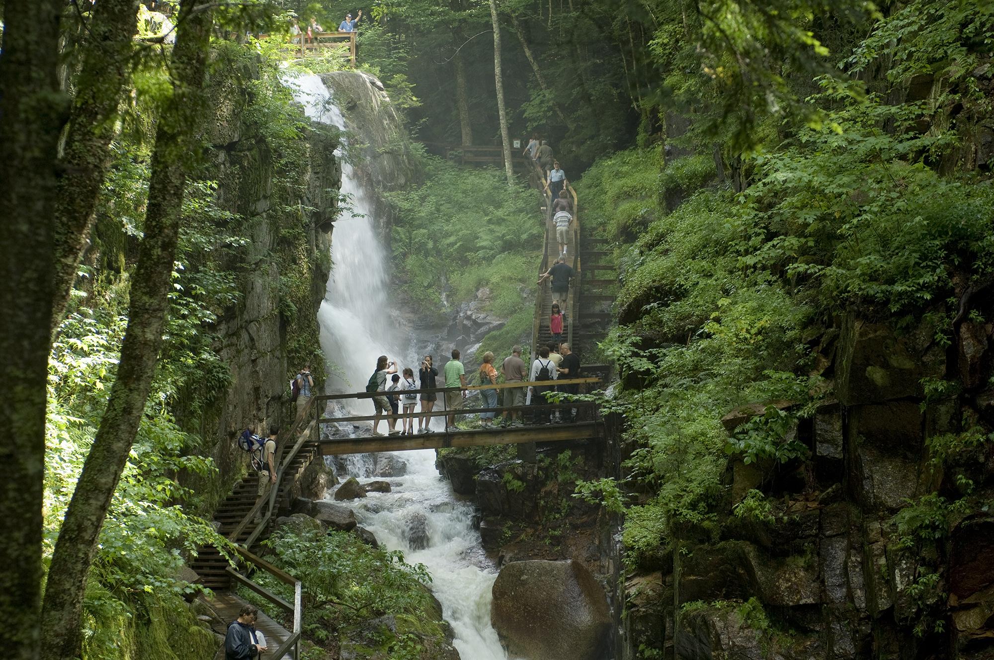 Flume Gorge New Hampshire Road Trip
