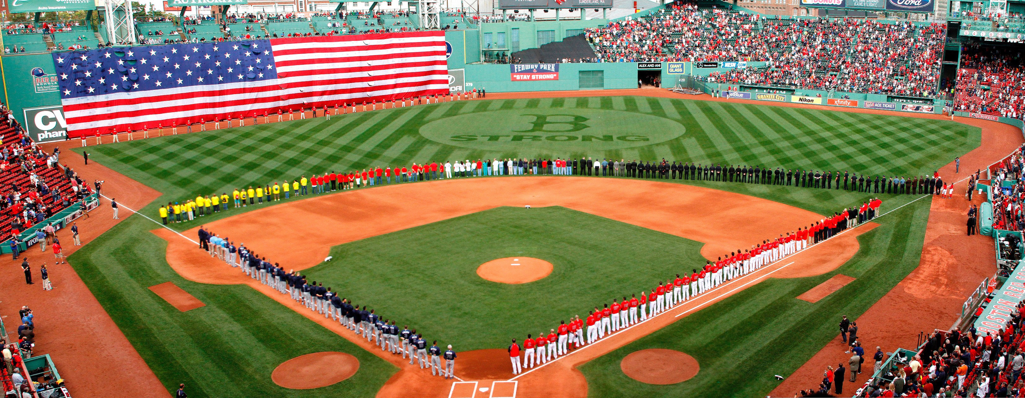 Fenway Park in 2013. (Photo by Marissa McClain/Boston Red Sox)