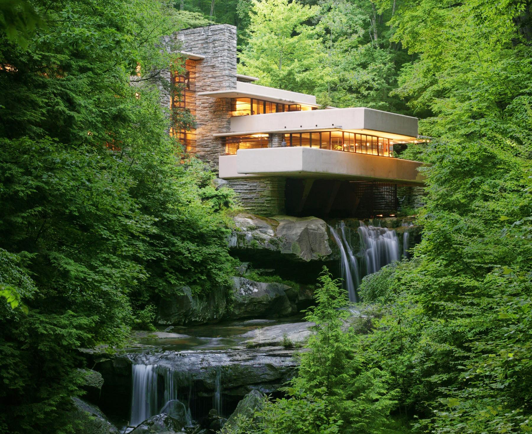 Fallingwater Pennsylvania Frank Lloyd Wright