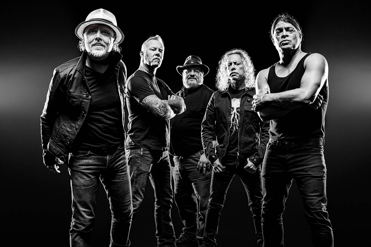 Dave Pickerell and Metallica