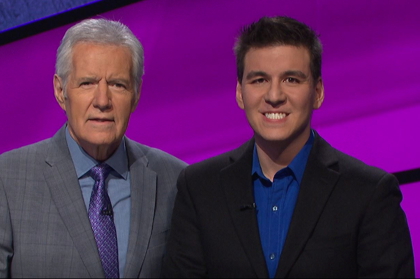 James Holzhauer and Alex Trebek (Jeopardy Productions/Facebook)