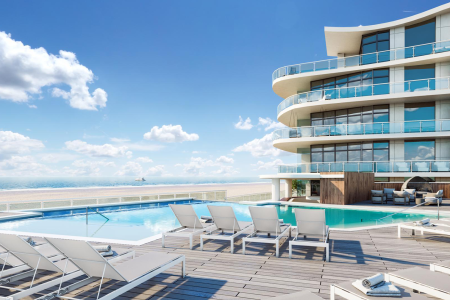 Spend a summer weekend poolside at the Wave Resort.