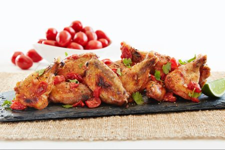 Wok Tossed Hot Wings by Roger Mooking. (Courtesy of SUNSET®)