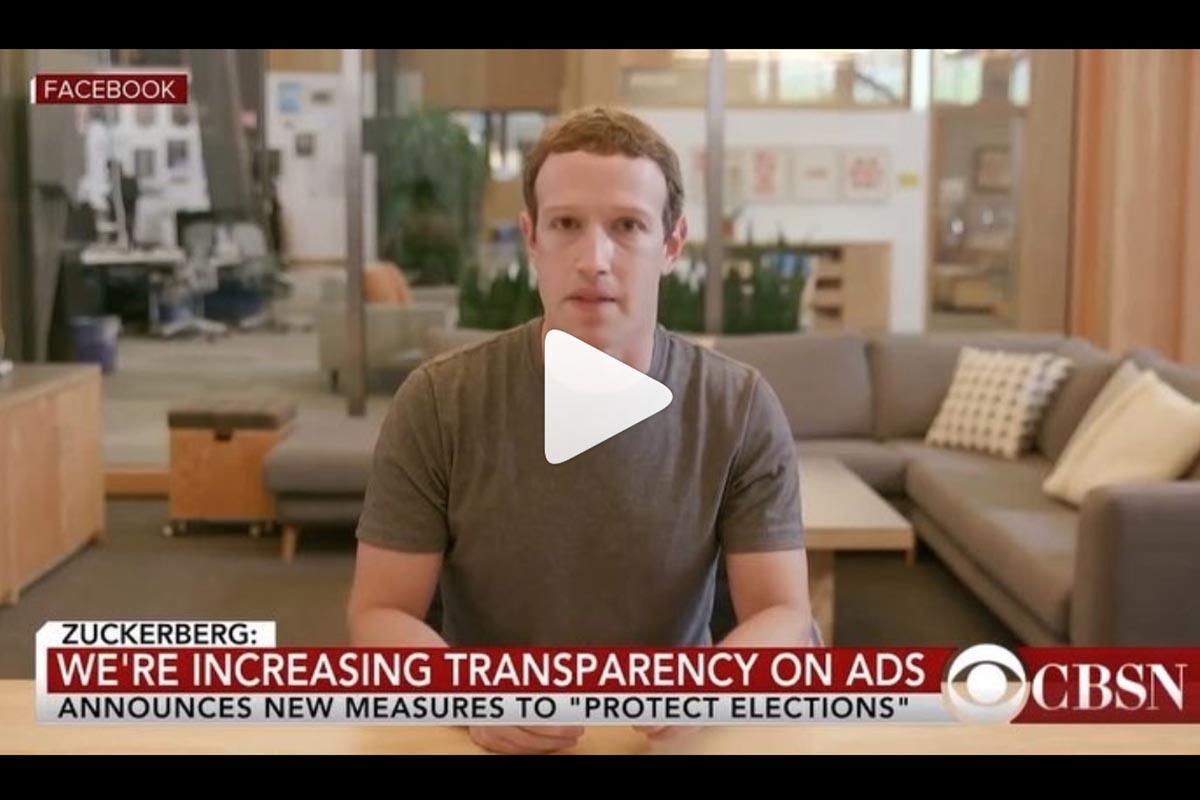 Fake Zuckerberg video
